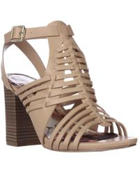 Madden Girl - Remiie Strappy Woven Sandals - Lyst