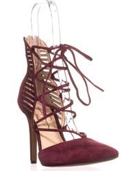 Jessica Simpson - Cynessa Lace Up Dress Court Shoes - Lyst