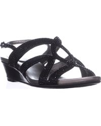 Bandolino - Gomeisa Slingback Wedge Sandals - Lyst