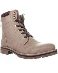 e2cf5d0b9 Lyst - Women s Tommy Hilfiger Flat boots Online Sale