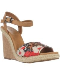 1fbc5d8f66a465 Mojo Moxy - Dolce By Posey Espadrille Wedge Sandals - Lyst