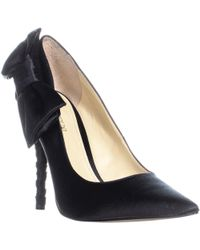Enzo Angiolini - Cyma Bow Tie Court Shoes - Lyst