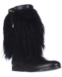 Michael Kors - Michael Lizzi Mid Fuzzy Winter Boots - Lyst