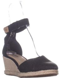 Sperry Top-Sider - Valencia Canvas Espadrille Wedge Sandals - Lyst