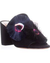 Loeffler Randall - Clo Block Heel Mule Sandals - Lyst