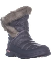 The North Face - Thermoball Micro-baffle Winter Booties - Lyst