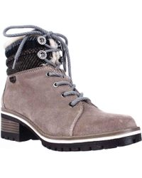 Anne Klein - Sport Langstyn Lined Lace Up Snow Boots - Lyst
