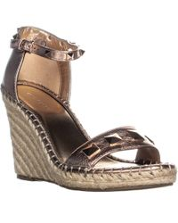 Marc Fisher - Knoll Studded Wedge Sandals - Lyst