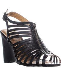 Rampage - Caligo Wedge Ankle Strap Sandals - Lyst