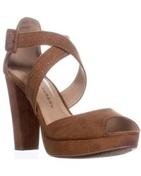 Chinese Laundry - All Access Platform Cross Strap Sandals - Lyst