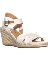 Lucky Brand - Margaline Espadrille Wedge Sandals - Lyst