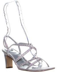 Bandolino - Ota Heeled Stappy Sandals - Lyst