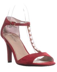 Rialto - Rida Jewel Strap Court Shoes - Lyst