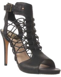 757bd4d520a Lyst - Vince Camuto Fossel Gladiator Sandals in Black