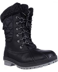 London Fog - Swanley Shearling Lined Cold Weather Snow Boots - Lyst
