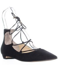 Sigerson Morrison - Wynne Lace Up Wedge Court Shoes - Lyst