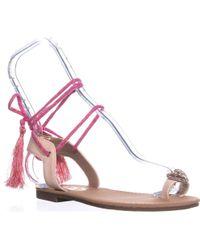 0450e2a001c4 Sam Edelman - Circus By Binx-1 Flat Sandals - Lyst