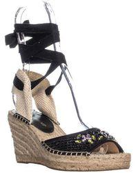 Ivanka Trump - Dalyna Gladiator Wedge Sandals - Lyst