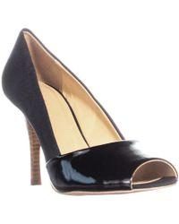 Tahari - Lyra Peep Toe Classic Heels - Lyst