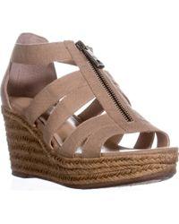 227f30bfd0d Lauren by Ralph Lauren - Lauren Ralph Lauren Kelcie Platform Wedge Sandals  - Lyst