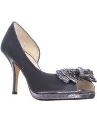 Caparros Janessa Peep Toe Open Side Heels