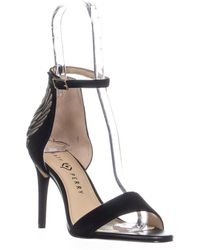 c88483e5a45b Katy Perry - The Alexann Heel Covered Ankle Strap Sandals - Lyst