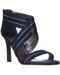 Adrianna Papell - Evonne Sparkle Evening Sandals - Lyst