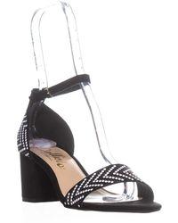 Callisto - Nessa Block Heel Sandals - Lyst