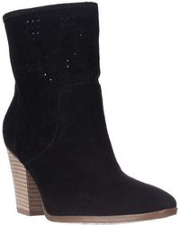 Enzo Angiolini - Gettup Perforated Calf Boots - Lyst
