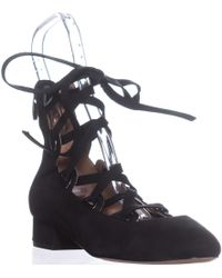 Sigerson Morrison - Smhea Lace-up Flats - Lyst