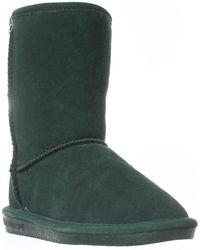 BEARPAW - Emma Short Fur Lined Winter Boots - Lyst