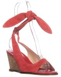 Bettye Muller - Playlist Wedge Back Tie Sandals - Lyst
