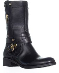 Marc Fisher - Dolca2 Mid-calf Motorcylcle Boots - Lyst
