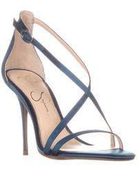 Jessica Simpson - Aisha Strappy Sandals - Lyst