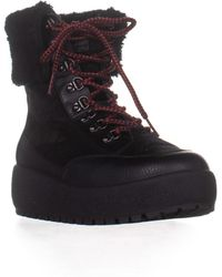 COACH - Tyler Sheer Lace-up Winter Boots - Lyst
