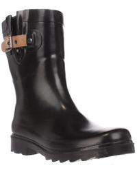 Chooka - Top Solid Mid Buckle Rain Boots - Lyst