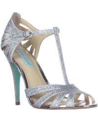 Betsey Johnson - Blue By Tee Dress Sandals - Lyst