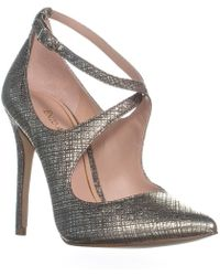 Enzo Angiolini - Finton Ankle Strap Pointed Toe Court Shoes - Lyst