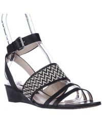 French Connection - Wiley Wedge Sandals - Lyst