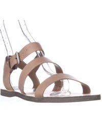 316d4bfc3 Lyst - Sam Edelman Trina Strapped Leather Sandals