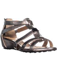 Söfft - Bernia Ankle Wedge Sandals - Lyst