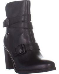 Naturalizer - Karlie Block Heel Ankle Boots - Lyst