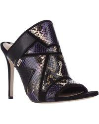 Via Spiga - Tarot Peep Toe Mule Dress Court Shoes - Lyst