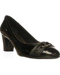 LifeStride - Aquaint Classic Court Shoes, Black - Lyst