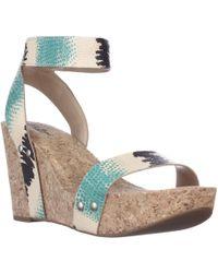 Lucky Brand - Mcdowell Cork Wedge Sandals - Lyst