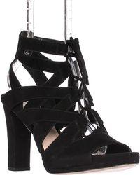 Via Spiga - Collette Strappy Lace Up Sandals - Lyst