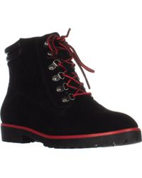Lauren by Ralph Lauren - Lauren Ralph Lauren Mikelle Work Boots - Lyst