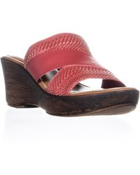 Easy Street - Positano Wedge Sandals - Lyst