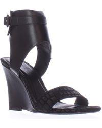 Joie - Waylen Ankle Strap Wedge Sandals - Lyst