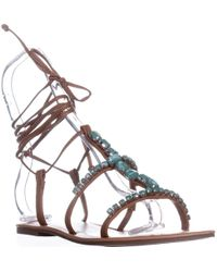 Madden Girl - Kalipsoo Flat Gladiator Sandals - Lyst